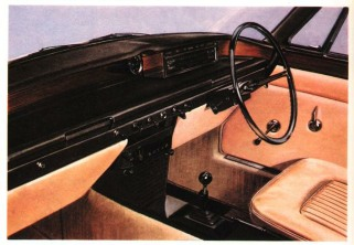 Rover 2000 Interior design